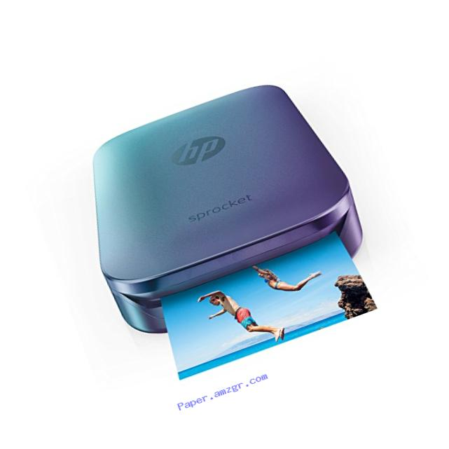 HP Sprocket Portable Photo Printer, Print Social Media Photos on 2x3